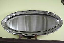 Fish Platter 29in. With Bead Pattern Applied Border