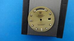 Genuine Vintage Rolex Menand039s 18038 18238 Yg Day Date Champagne Diamond Dial