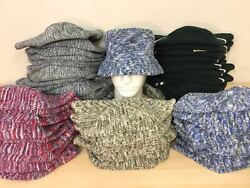 Designer's Knitted Bucket Hat - Major Department Store Overstocks