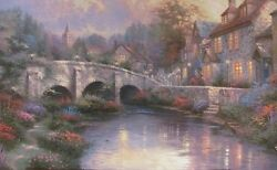 Cobblestone Brooke SP by Thomas Kinkade