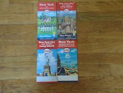 Vintage Esso Maps-ny With Sight-seeing Nyc And L.i.2ny And Westchesterrockland