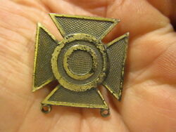 Wwii Sterling Sharpshooter 1st Class Badge Snow Flake Back
