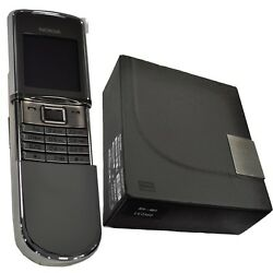 New Nokia 8800d Sirocco Silver Factory Unlocked English+russian