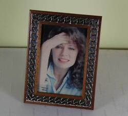 Fine Quality Sterling Silver And Wood Photo Frames