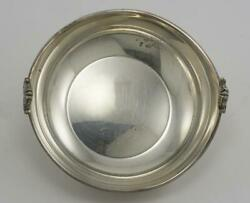 G.a.b. Sweden Sterling Silver Art Deco Candy Dish 4.0 Ozt - Circa 1920-1940