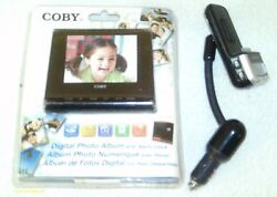 Rare Coby Dp356 Digital Photo / Mp3 Player/ Clock / Calender Album And Gift