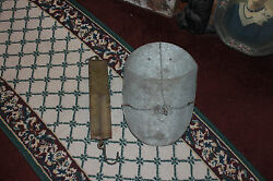 Antique Chattillons Spring Balance Scale-144lb Pounds-tin Candy Measuring Scoop