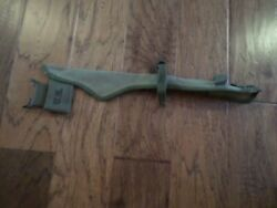 Wwii U.s.military Army Pick Mattock Carrier M-1910 Entrenching Axe Cover 1944