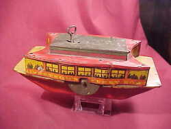 old tin toy lindstrom ferry boat lindstrom
