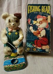 rosko steele battery operated fishing bear