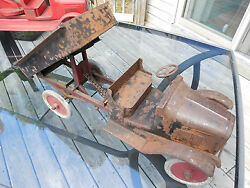 original 1921 buddy l chain drive dump