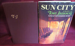 Sun City Tove Jansson. 1976 Hbdj. Stated 1st American Edn. Old Age Quirky