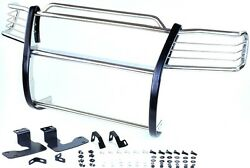 2004 Chevy Silverado 1500hd/2500ld Chrome Brush Stainless Steel Grille Guards