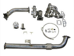 T04e Turbo Kit For 240sx S13 S14 Chassis With Sr20det Swap Bolt On Top Mount