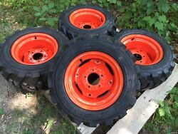 23x8.50-12 Foam Filled Xtra Wall Skid Steer Tires/wheels For Bobcat 453,463,s70