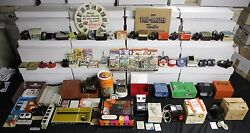 1940s-1970s Vintage Sawyer View-master 313pc Lot Gaf Pana-vue Stereoscope Viewer