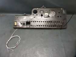 Piper Pa-23-250 Aztec Aircraft Lower Instrument Circuit Breaker Panel Assy