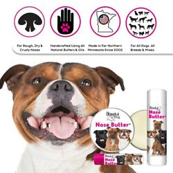 STAFFORDSHIRE PIT BULL TERRIER NOSE BUTTER® FOR ROUGH DRY DOG NOSES TINSTUBES