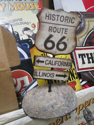 Route 66 New Desk Display Road Hi Way California Illinois Mother