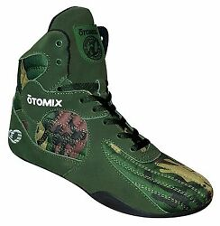 Otomix Stingray Escape Bodybuilding Weightlifting Mma Grappling Shoes Camo
