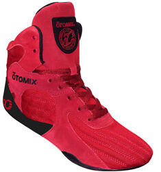 Otomix Stingray Escape Bodybuilding Weightlifting Mma Grappling Shoes Red