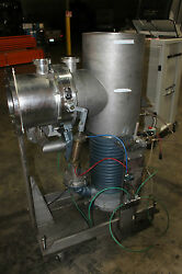 AERO VAC LEQUID NITROGEN TRAP WITH CONSOLIDATED VACUUM PUMP 10C APPARATUS