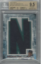 Robinson Cano 2015 Topps Own The Name Relics 1/1 Otn-rc Upd/4 Bgs 9.5