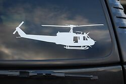 Huey Helicopter Uh-1h Vinyl Sticker Decal Wall Car Window Pick 6 To 36 V419