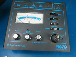 Spectra Physics Model 2670wr Remote Control Key Included Sn 3151