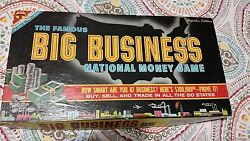 1954 Big Business Board Game By Transogram Toys And Games