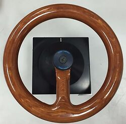 Kwant Controls Pilot House Helm Wheel 144 Spring Return 30°