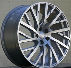 4 20x9 5x112 Wheels And Tires Pkg Fit Audi A8 A5 A4 S4 S5 A7 S7 Q5 Rs4 Rs5 Rs6