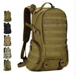 Small Army Military Combat Tactical Camo Assault Molle Pack Backpack Daypack