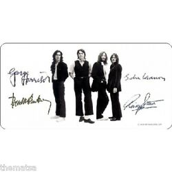 The Beatles With Autographs And Pictures Usa Made License Plate