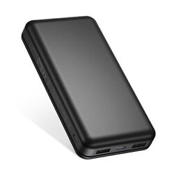 26800mah Type C Power Bank Dual Usb Fast Charging Portable Charger For Iphone 12