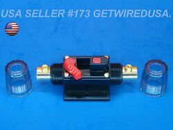 Inline Waterproof 12-volt Battery Isolator On And Off Manual Kill Switch