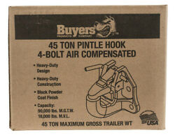 Buyers Products P45ac4k 45-ton Air Compensated Pintle Hook 4-hole