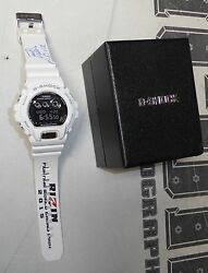 King Mo Lawal Personally Owned Rizin Ff 2015 Grand Prix G-shock Watch Psa/dna