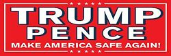 8and039x24and039 Donald Trump / Mike Pence 2016 - Huge Banner Sign - Red/blue