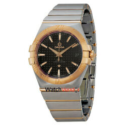 Omega Constellation Automatic Steel and Rose Gold Mens Watch 12320352001001