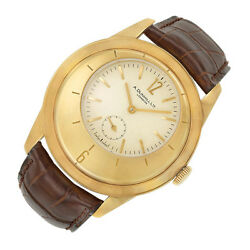 DUNHILL X-CENTRIC 18K YELLOW GOLD WATCH LIMITED EDITION BOX AND PAPERS