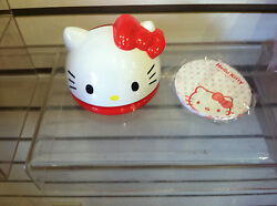 Collectible Hello Kitty Memo In Diecut Kitty Case by Sanrio