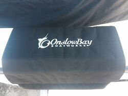 Onslow Bay Boat Embroidered Boat Gunwale Boarding Mat 24x36