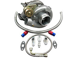T61 Turbo Charger + Oil Kit Toyota 86-92 Supra Mk3 Mk 3 7mgte Upgrade Ct26 Bolt