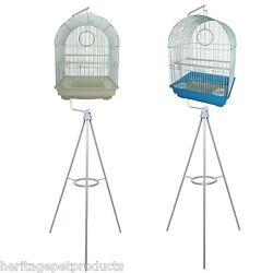 Heritage Medium Bird Cage And Tripod Bird Cages Stand Great Value Budgie Canary
