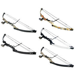 40-55 Lb Black / Sliver / Camo Camouflage Archery Hunting Compound Bow 150 75 50