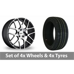 4 X 19 Tsw Nurburgring Forged Alloy Wheel Rims And Tyres - 245/40/19