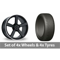 4 X 20 Fox Racing Ms003 Alloy Wheel Rims And Tyres - 275/45/20