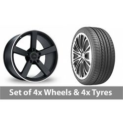4 X 20 Fox Racing Ms003 Alloy Wheel Rims And Tyres - 275/35/20