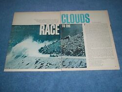1966 Pikes Peak Hill Climb Highlights Article Race To The Clouds